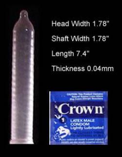 Crown Skinless Condoms